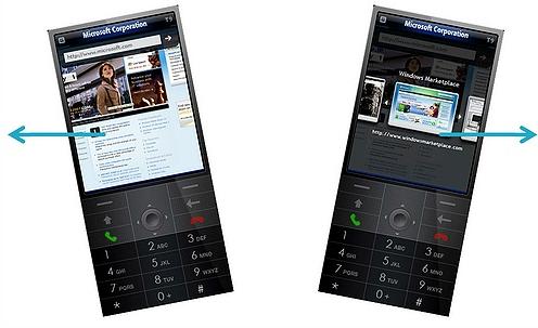 Internet Explorer - Windows Mobile 7
