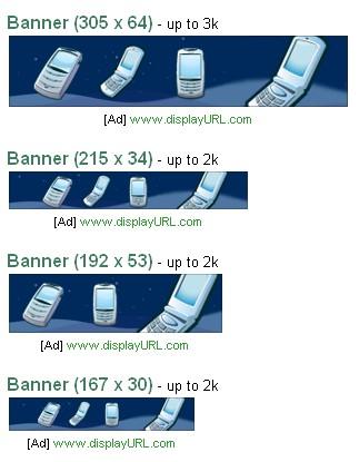 Format de publicité mobile