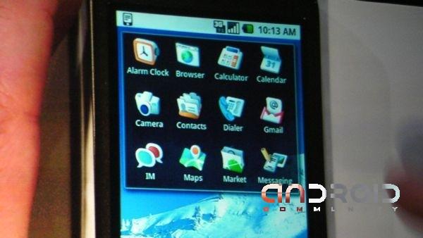 Android nouvelle monture + htc dream