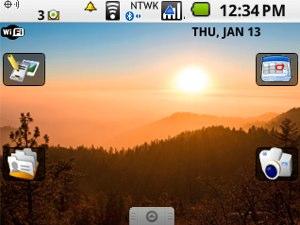 Thème Android sur Blackberry Curve