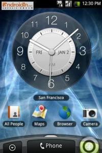 Android Rosie, developpment chez HTC