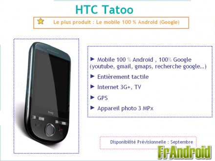 HTC Tatoo