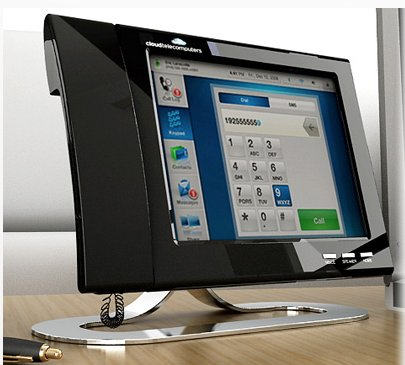un t l phone de bureau high tech sous android frandroid. Black Bedroom Furniture Sets. Home Design Ideas