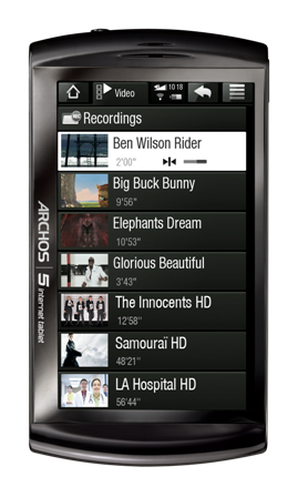 ARCHOS 5 Internet Tablet - Video_vignette
