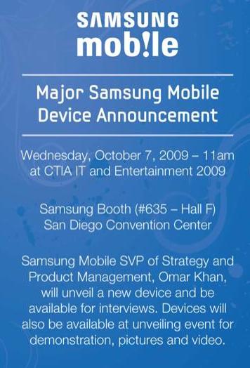 Samsung à la CTIA