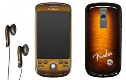 HTC Magik aux couleurs de Fender