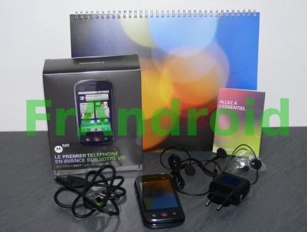 Contenu et emballage du Motorola Dext