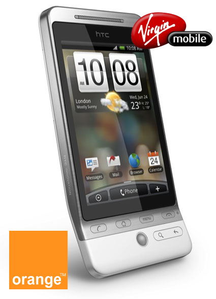 In search of Tux: HTC Hero on Virgin Mobile