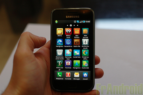 Samsung Galaxy S probl�me soft